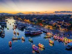 Photos of Vietnamese tourismon display