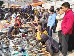 Traditional market suspended due to the pandemic