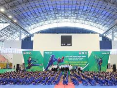 1,500 school students begin Vovinam competition in HCM City