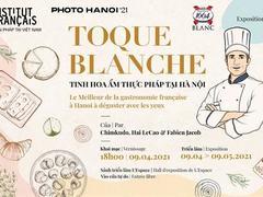 Photo exhibition dedicatedto French cuisine