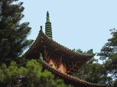 Minh Thành, a peaceful and unique pagoda in a mountainous city
