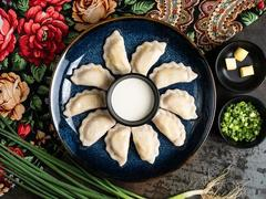 Vareniki: Slavic boiled potato & cheese dumplings