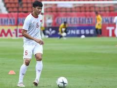 Văn Hậu out of the national team due to injury