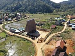 Kon Pring, a peaceful village in the Central Highlands