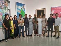 Exhibition gathers former art students of Vietnam University of Fine Arts