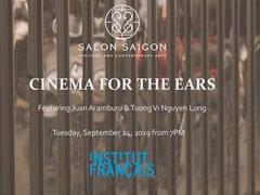 """Cinema for the Ears"" electro-acoustic night music at Salon Saigon"