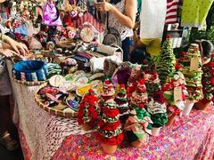 Vintage flea market and workshops at Saigon Outcast