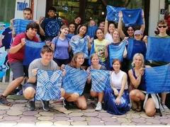 DIY indigo dyeing workshop