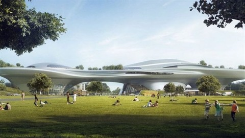 Los Angeles to house movie mogul George Lucas museum