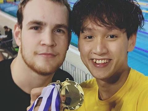 Phước swims to two golds at Portugal int'l event