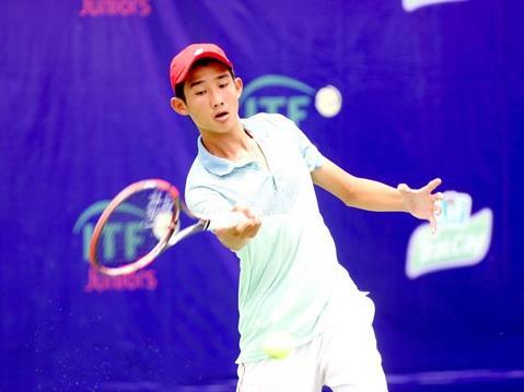 Phương stops in the quarter-finals of world junior tennis champs