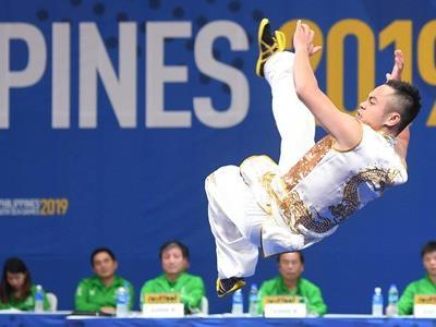 Wushu, weightlifting take SEA Games golds