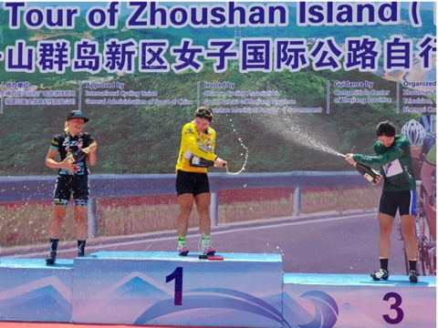 Mai wins Tour of Zhoushan Island