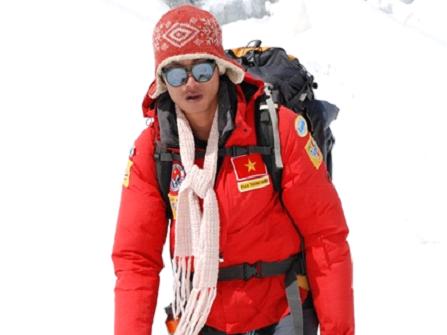 Phan Thanh Nhiên, from snowy peak to silver screen