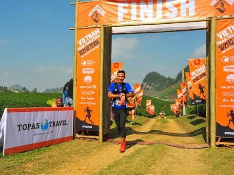 Quang wins Việt Nam Trail Marathon