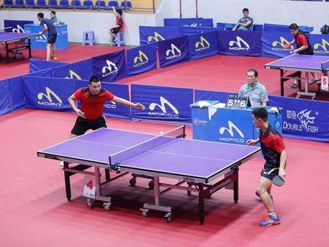 Athletes to compete at Hà Nội Open Table Tennis