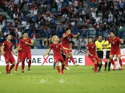 Việt Nam's victory over Jordan at Asian Cup grabs int'l headlines