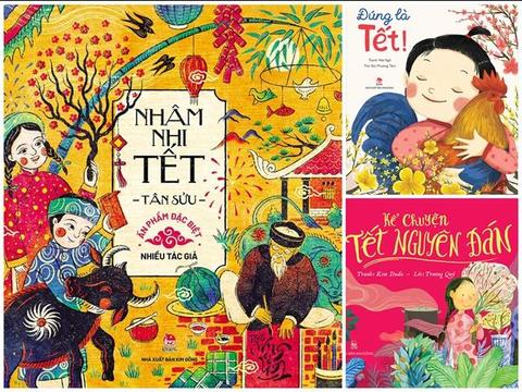 New children's books about Tết released