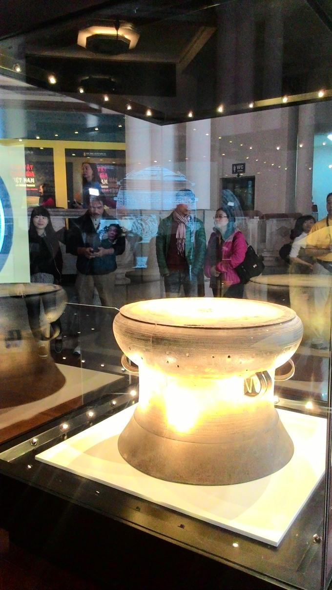 National treasures on display