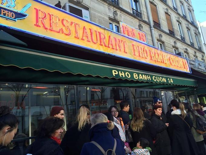 No real beef with phở in a Paris eatery