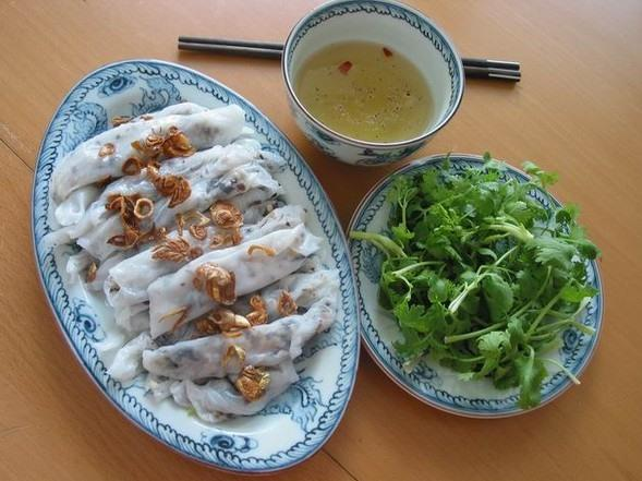 Bánh cuốn - a delight to one's sense of smell and taste