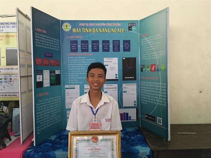 Vietnamese IT whiz happy with his apps