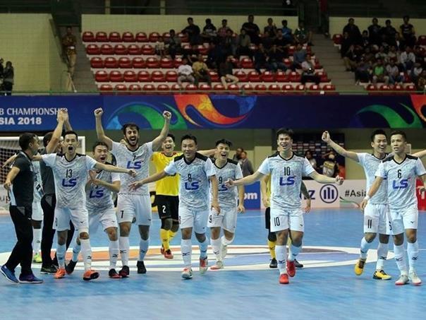Thái Sơn Nam nominated for world's best futsal club award