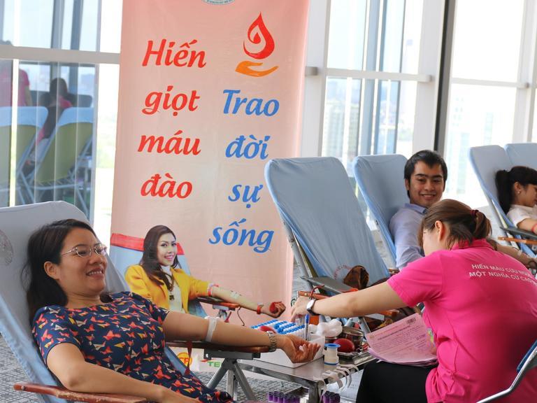 FMP Hanoi's Blood Donation Day