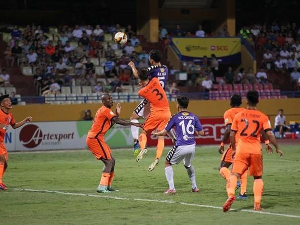 Hà Nội FC top V.League 1's ranking
