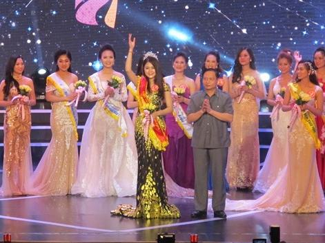 Winner crowned at Miss Hoa Lư 2018 beauty pageant