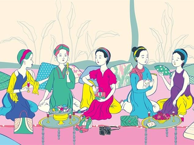 Classic, contemporary beauty of Vietnamese women reflected