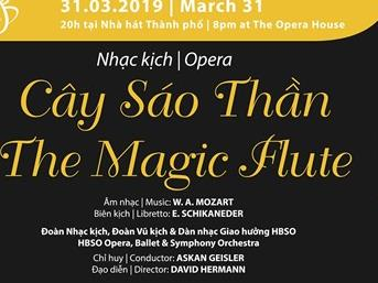 Mozart's The Magic Flute at Opera House
