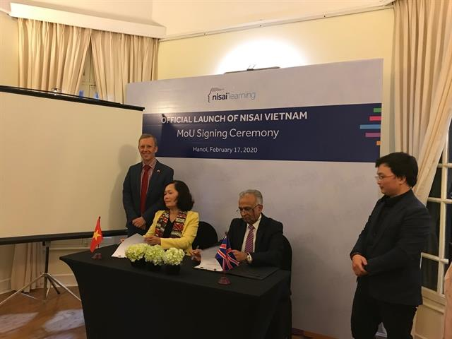 Nisai Group signs MoU with Vietnamese partners to open Global Online School in Việt Nam
