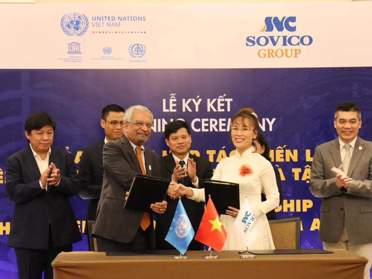 Deal signed tosupport Hà Nội's cultural heritage and development
