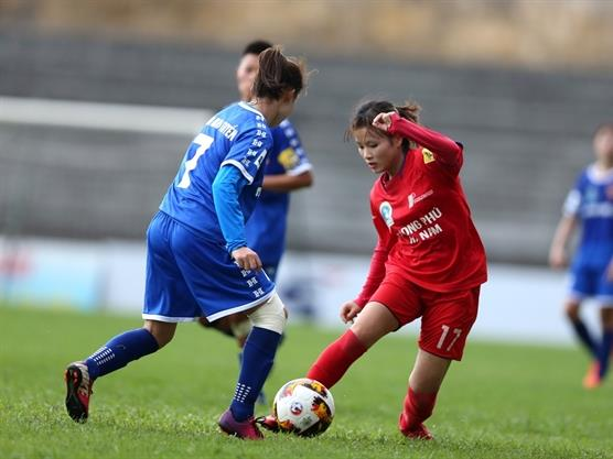 Phong Phú Hà Nam draw with Thái Nguyên T&T in national women's football champs