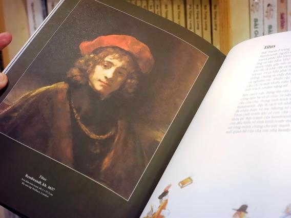 Books on European art icons published