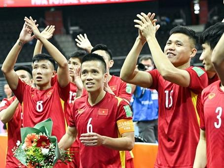 Việt Nam to face Russia in knock-out round of Futsal World Cup