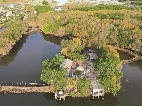 Rú Chá offers wetland wonderland for visitors