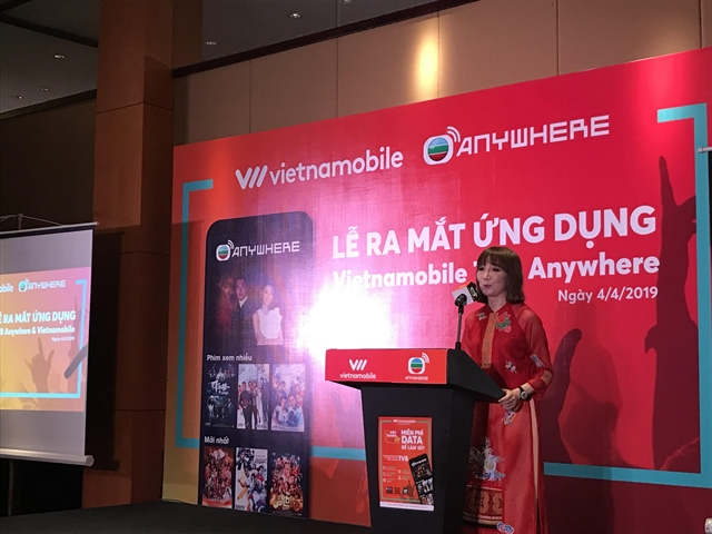 Vietnamobile launches Hong Kong drama app